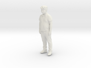 Printle C Kid 199 - 1/24 - wob in White Strong & Flexible