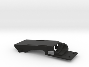 Low CG Battery Tray for TRX-4 in Black Natural Versatile Plastic
