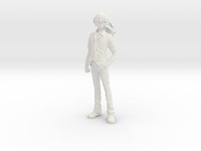 1/20 Alto Saotome Macross Frontier in White Natural Versatile Plastic