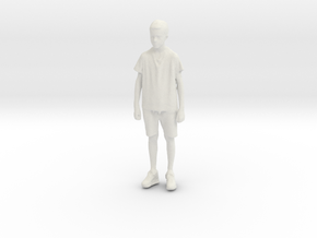Printle C Kid 207 - 1/24 - wob in White Natural Versatile Plastic