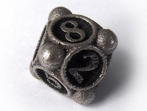 Spore Die8 in Stainless Steel