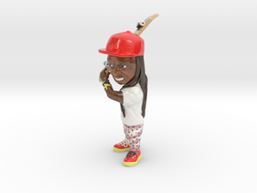Lil Wayne in Coated Full Color Sandstone