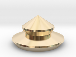 URNS-3 2013 0.8mm Cap in 14k Gold Plated Brass
