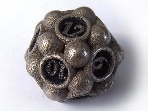 Spore Die12 in Stainless Steel