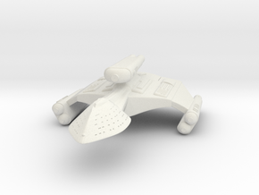 3125 Scale Romulan DemonHawk Dreadnought MGL in White Natural Versatile Plastic