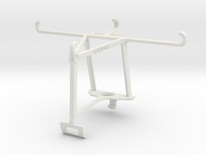 Controller mount for Xbox One S & Motorola Moto Z  in White Natural Versatile Plastic