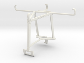 Controller mount for Xbox One S & Motorola Moto E  in White Natural Versatile Plastic