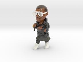 Kanye West in Glossy Full Color Sandstone