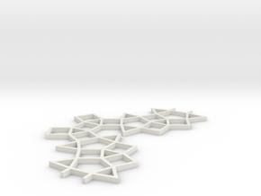MB 01 in White Natural Versatile Plastic