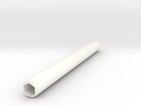 Simple Pencil Holder in White Processed Versatile Plastic