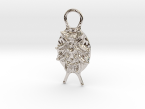 SMK Persian Pendant (Gijsbrechts) in Rhodium Plated Brass