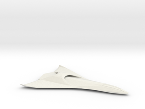 Eclipse-Class Shuttle Mk II in White Natural Versatile Plastic