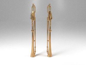 Trumpets in Polished Brass