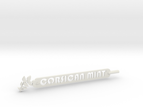 Corsican Mint Plant Stake  in White Natural Versatile Plastic