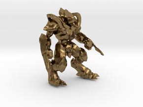 1/60 Protoss Zealot in Natural Bronze