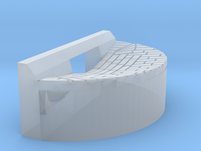 storm drain basin - Straight Curb in Smoothest Fine Detail Plastic