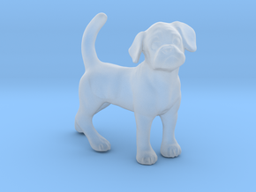 1/24 Pug Female Adult Dog in Smooth Fine Detail Plastic