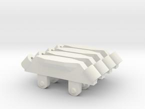 Pylon Station 4 for VF 25 in White Natural Versatile Plastic