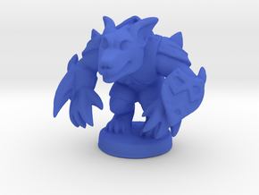 Werewolf Warlord (Chthonic Souls Edition) in Blue Strong & Flexible Polished