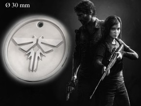 Firefly Pendant (The Last Of Us) in Polished Silver