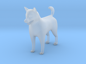 O Scale Shelti Dog in Smoothest Fine Detail Plastic