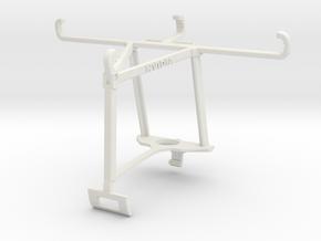 Controller mount for Xbox One S & ZTE Blade L5 Plu in White Natural Versatile Plastic