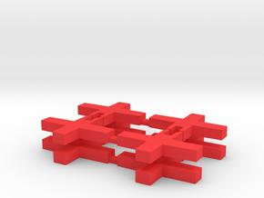 JYE Tech Oscilloscope Switch Operators in Red Processed Versatile Plastic