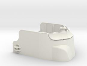 1/32 Balao class Fairwater Shield in White Natural Versatile Plastic