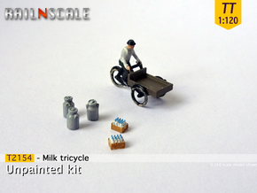 Milk tricycle (TT 1:120) in Frosted Ultra Detail
