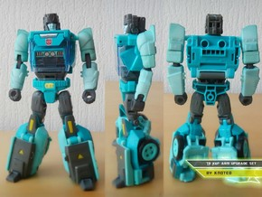 TR Kup Arm Upgrade Set B in White Strong & Flexible Polished