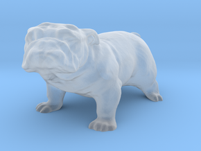 O Scale Bulldog in Smooth Fine Detail Plastic