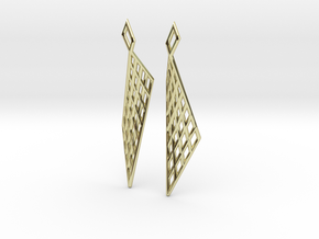 Mesh Earring Set in 18k Gold