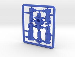"MicroSlinger ""Squall"" in Blue Processed Versatile Plastic"
