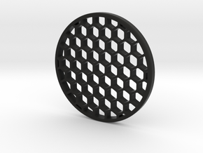Honeycomb KillFlash 57mmD 5.9mmClearance 5mmT 1.2m in Black Strong & Flexible