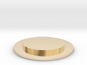URNS Labrador Puppy Cap in 14k Gold Plated Brass