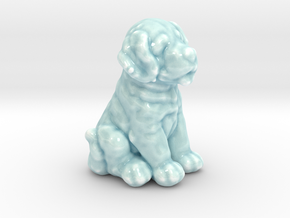 URNS Labrador Puppy 3mm in Gloss Celadon Green Porcelain