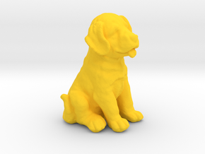 URNS Labrador Puppy 0.8mm in Yellow Processed Versatile Plastic