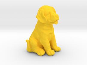 URNS Labrador Puppy 0.8mm in Yellow Processed Versatile Plastic