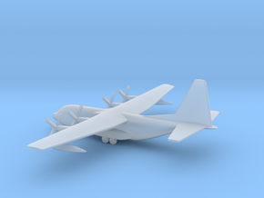 Lockheed C-130 Hercules in Smooth Fine Detail Plastic: 1:600