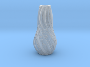 VASE PERSONNALISABLE in Smooth Fine Detail Plastic
