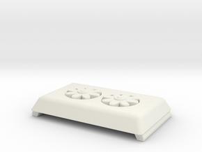 1/87 Seagrave AC in White Natural Versatile Plastic