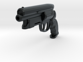 Deckard Pistol in Black Hi-Def Acrylate