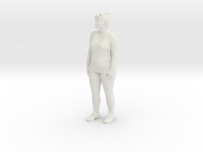 Printle C Femme 331 - 1/32 - wob in White Strong & Flexible