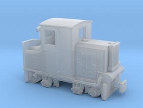 Feldbahn Holzvergaserlok SCHÖMA H0f 1:87 in Smooth Fine Detail Plastic