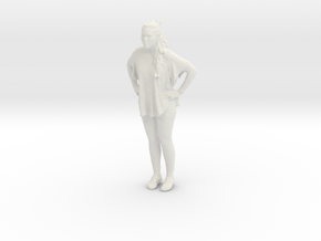 Printle C Femme 343 - 1/32 - wob in White Strong & Flexible