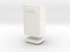 Sample Bag behind the aft pallet in White Processed Versatile Plastic