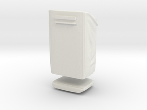 Sample Bag-in Front Of The Aft Pallet in White Natural Versatile Plastic