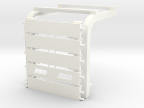 "1/64 Overhead Door 10'x10' (1.875""x1.875"") Kit in White Processed Versatile Plastic"