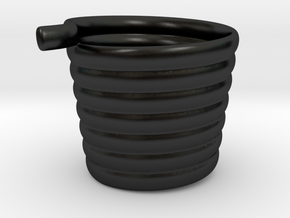 Livin Mug in Matte Black Porcelain