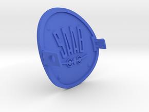 Saab Viggen Tow Hook Cover in Blue Processed Versatile Plastic